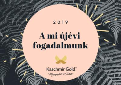 Újévi fogadalom a Kaschmir Gold<sup>&#174;</sup>-nál