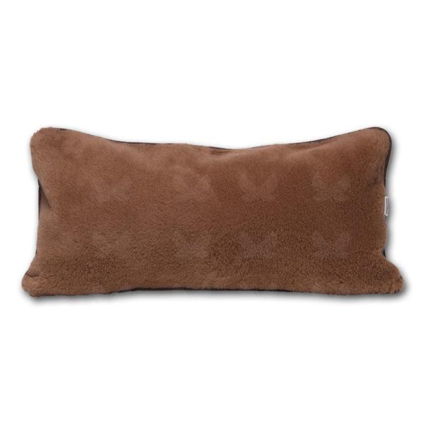 Brownie nugátbarna nagypárna - kasmír-merinó gyapjúból