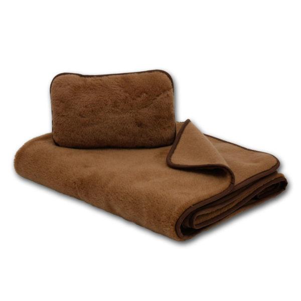 Utazószett csomagajánlat tartalma - takaró és párna