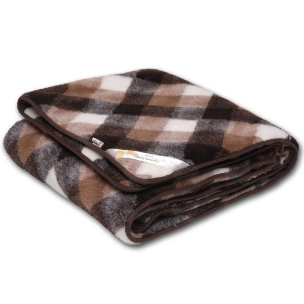 Brownie® kockás takaró