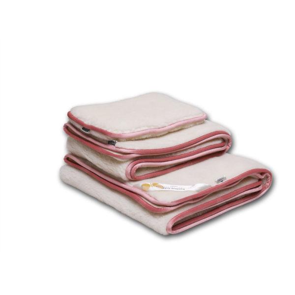 A Favorit Baby garnitúra, rózsaszín szegéllyel, tartalma- derékalj, takaró, párna