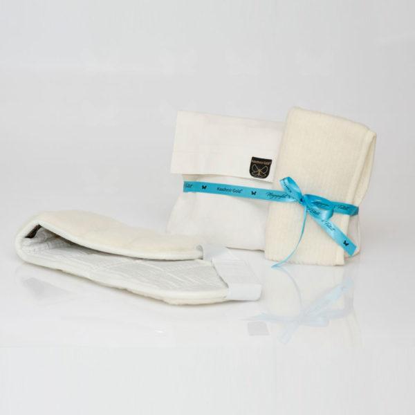 Queen derékvédő tárolótasakkal, légcsatornás derékvédővel - praktikus csomag