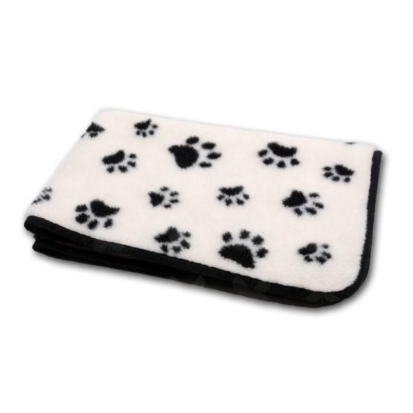 Tappancs mintázatú kutyatakaró - 100% merinógyapjú